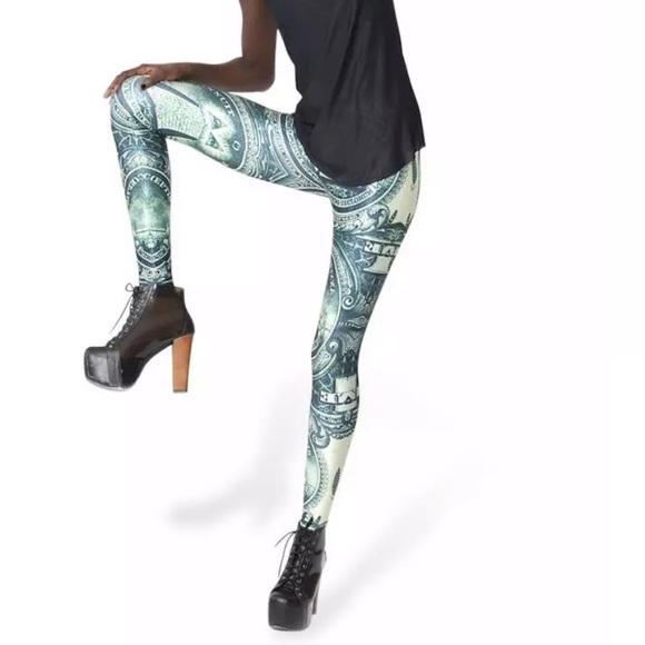 53d20c2fe1e986 Blackmilk Pants   Dollar Leggings   Poshmark